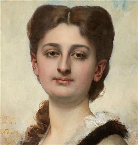 对不起,你的人像作品美到我了!法国学院派画家Jules Joseph Lefebvre插图33