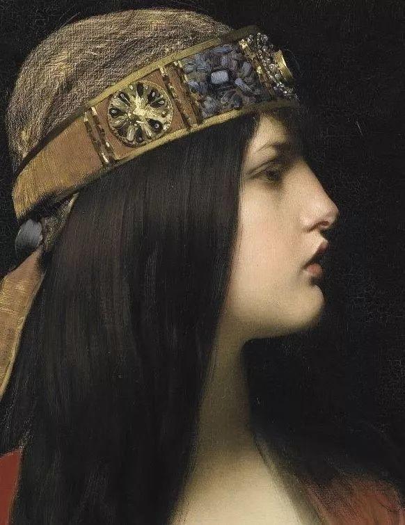 对不起,你的人像作品美到我了!法国学院派画家Jules Joseph Lefebvre插图35