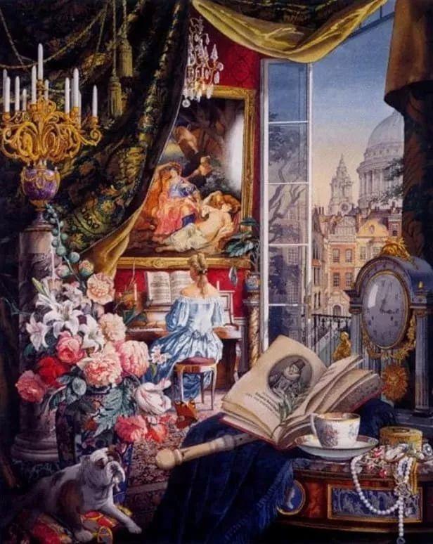 城市街景,美!俄罗斯画家Vladimir Stroozer插图15