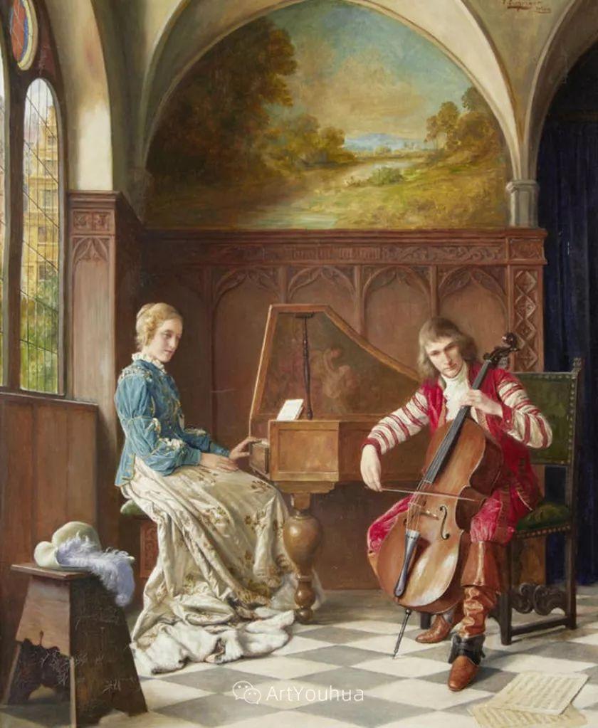 永恒的音乐——欧洲绘画精选插图7