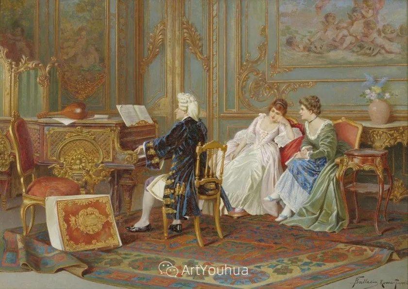 永恒的音乐——欧洲绘画精选插图24