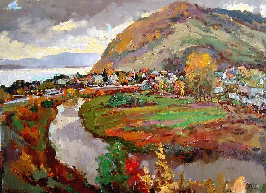 色彩丰富的风景油画,太美了!俄罗斯画家Andrey Mishagin插图1
