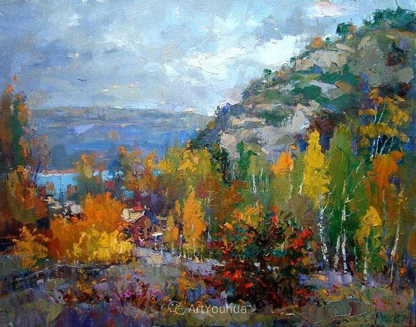 色彩丰富的风景油画,太美了!俄罗斯画家Andrey Mishagin插图3