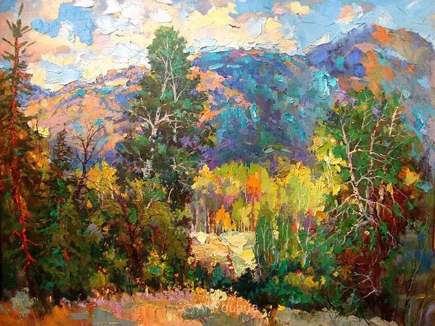 色彩丰富的风景油画,太美了!俄罗斯画家Andrey Mishagin插图5