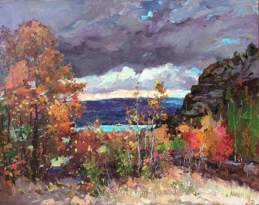 色彩丰富的风景油画,太美了!俄罗斯画家Andrey Mishagin插图9