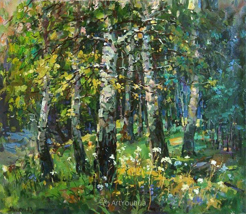 色彩丰富的风景油画,太美了!俄罗斯画家Andrey Mishagin插图11