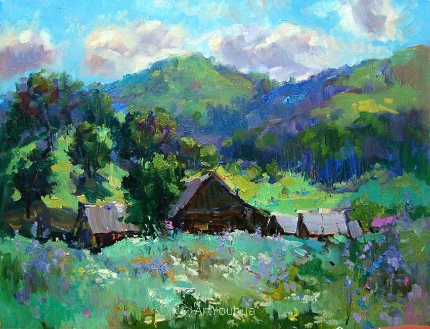 色彩丰富的风景油画,太美了!俄罗斯画家Andrey Mishagin插图13