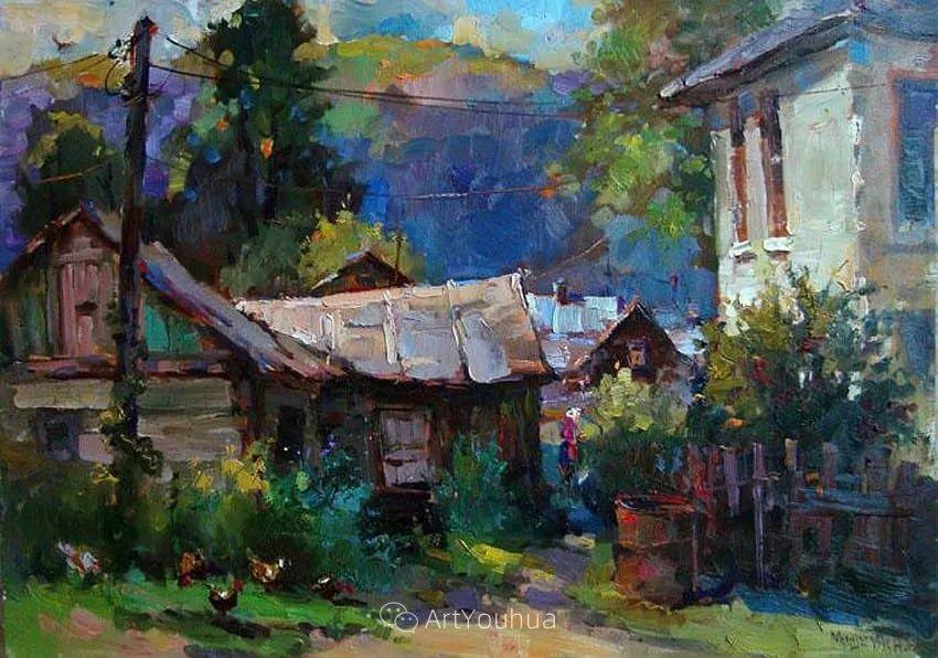 色彩丰富的风景油画,太美了!俄罗斯画家Andrey Mishagin插图15