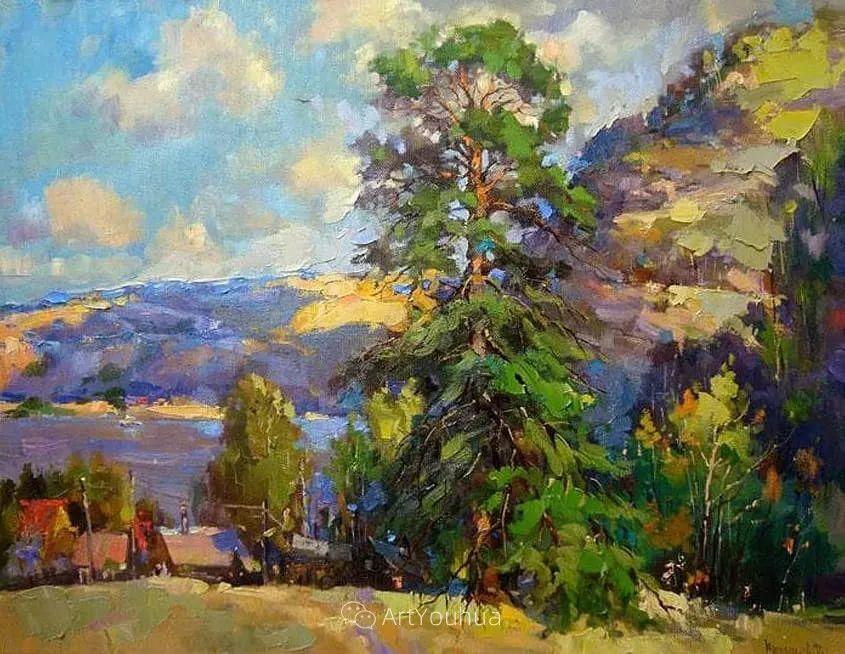 色彩丰富的风景油画,太美了!俄罗斯画家Andrey Mishagin插图19