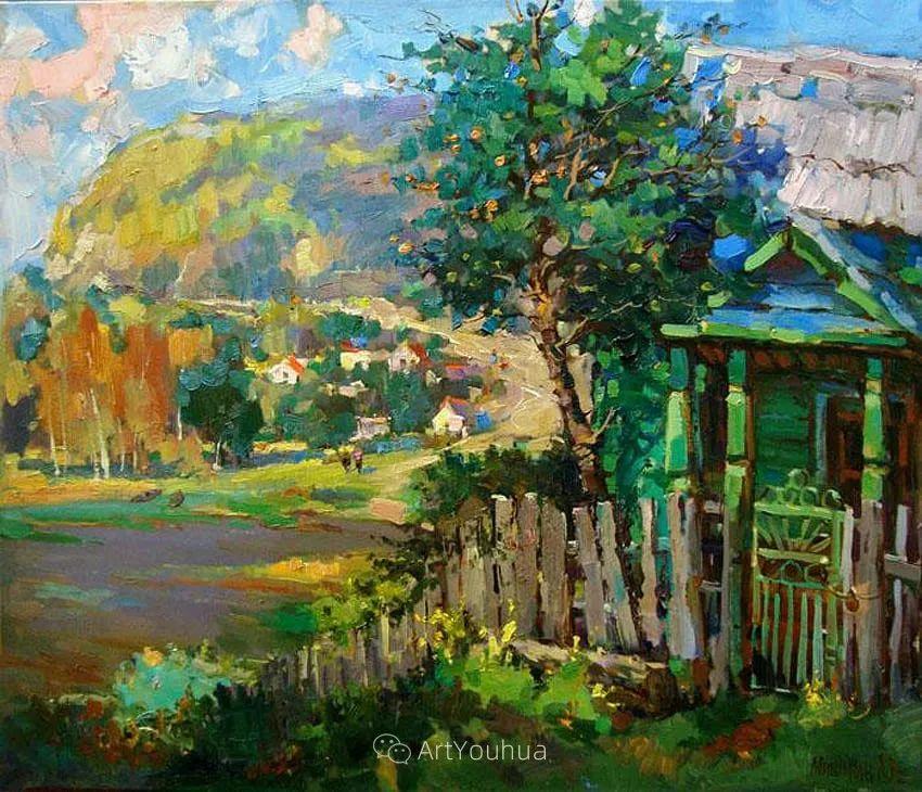 色彩丰富的风景油画,太美了!俄罗斯画家Andrey Mishagin插图23