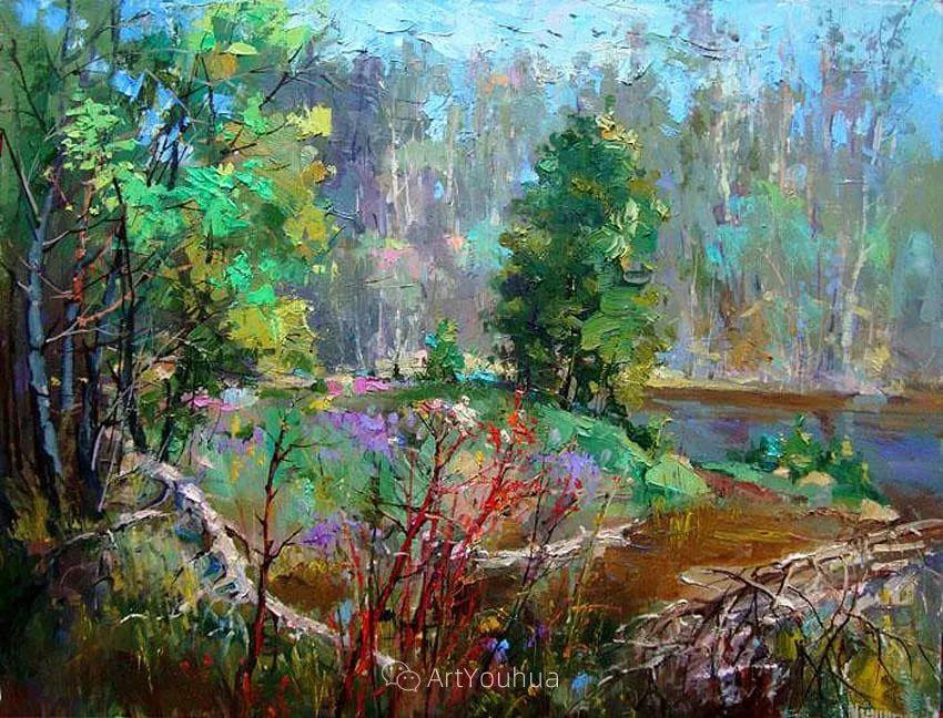 色彩丰富的风景油画,太美了!俄罗斯画家Andrey Mishagin插图25