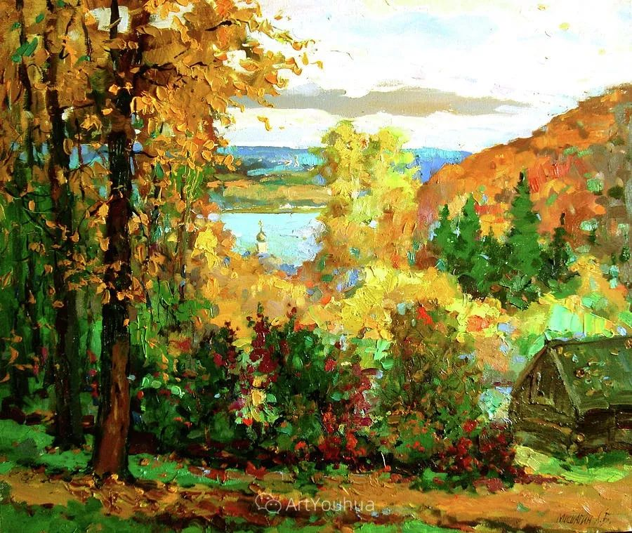 色彩丰富的风景油画,太美了!俄罗斯画家Andrey Mishagin插图27