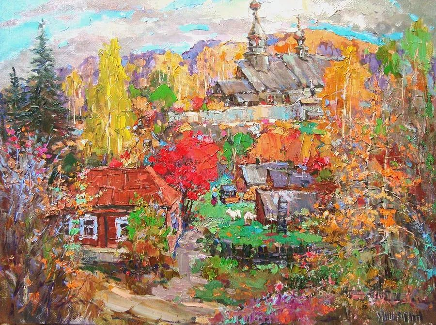 色彩丰富的风景油画,太美了!俄罗斯画家Andrey Mishagin插图29
