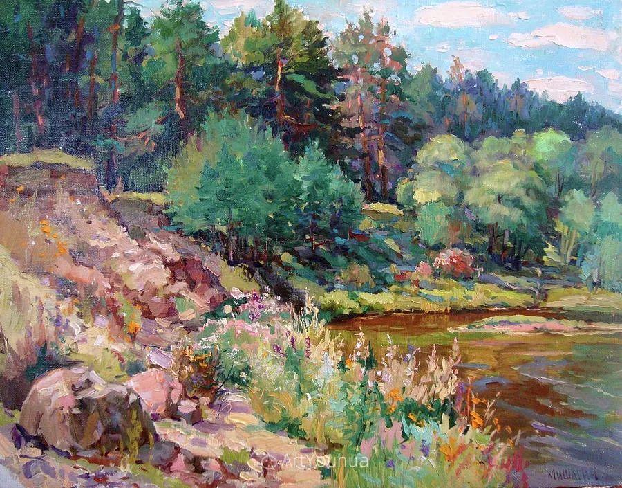 色彩丰富的风景油画,太美了!俄罗斯画家Andrey Mishagin插图31