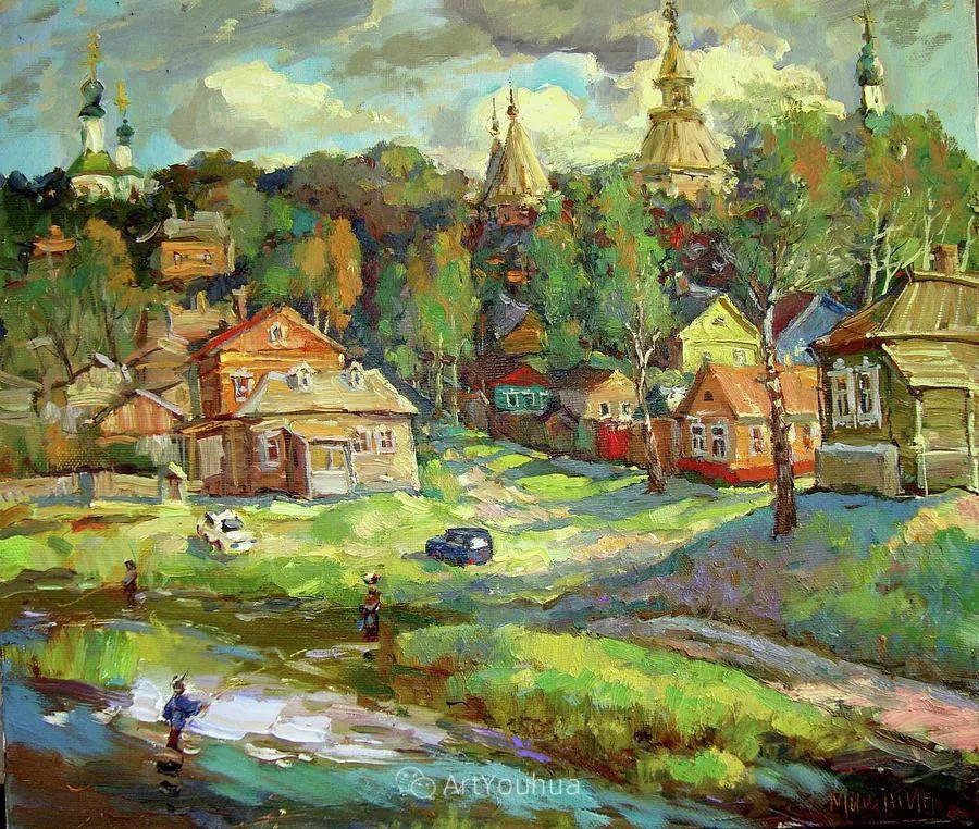 色彩丰富的风景油画,太美了!俄罗斯画家Andrey Mishagin插图33