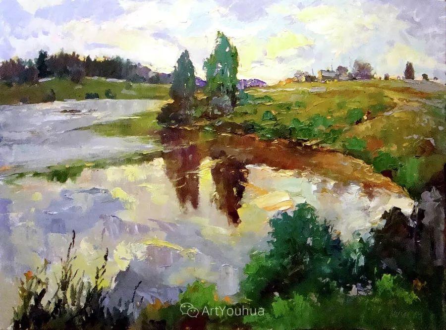 色彩丰富的风景油画,太美了!俄罗斯画家Andrey Mishagin插图35