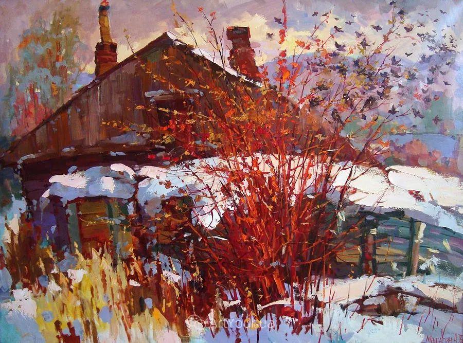 色彩丰富的风景油画,太美了!俄罗斯画家Andrey Mishagin插图37
