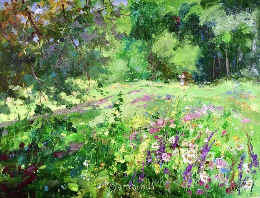 色彩丰富的风景油画,太美了!俄罗斯画家Andrey Mishagin插图39