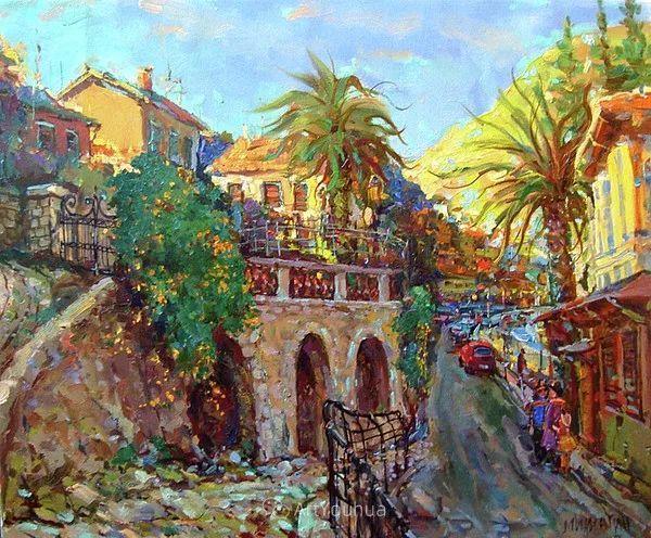 色彩丰富的风景油画,太美了!俄罗斯画家Andrey Mishagin插图41