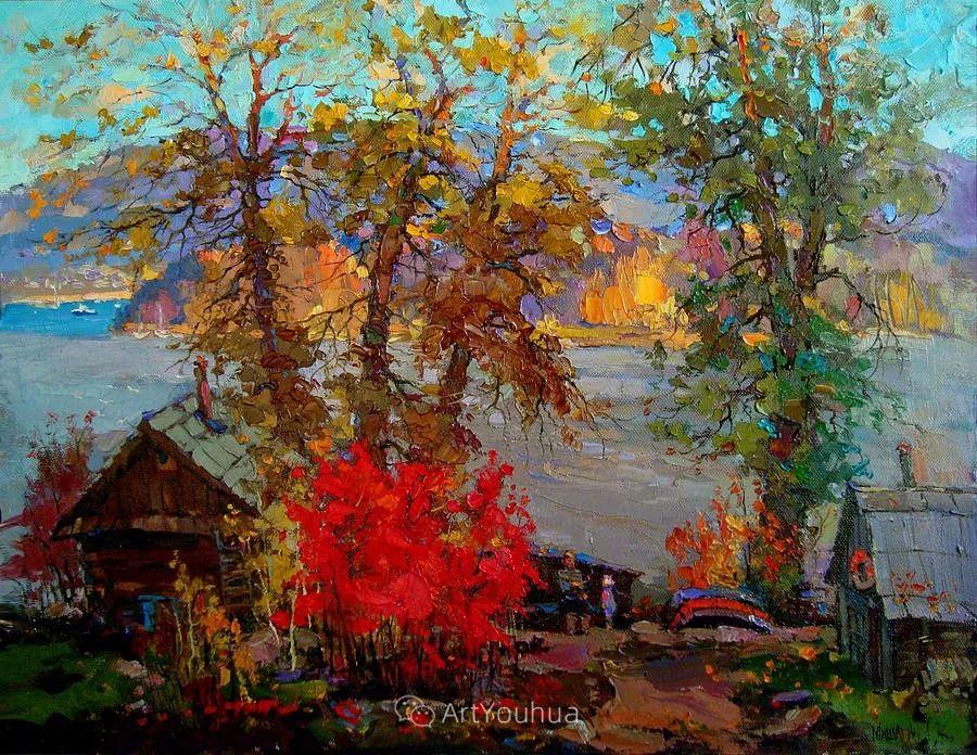 色彩丰富的风景油画,太美了!俄罗斯画家Andrey Mishagin插图43