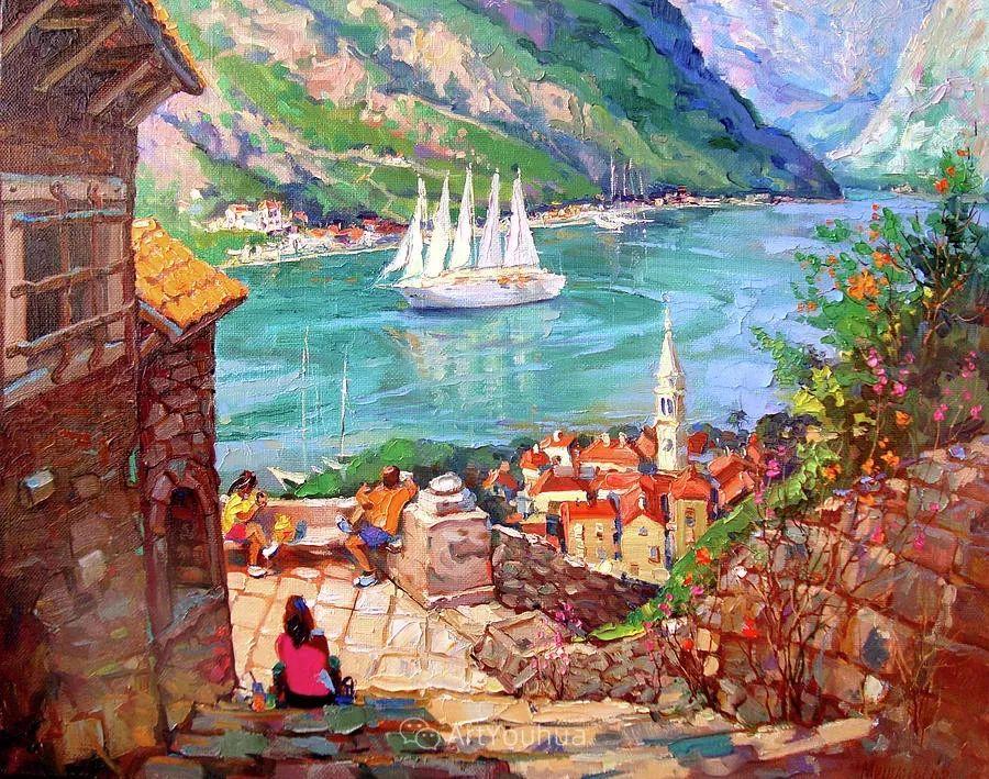色彩丰富的风景油画,太美了!俄罗斯画家Andrey Mishagin插图45