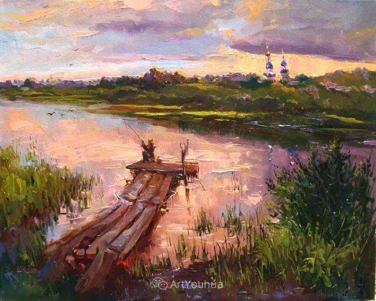 色彩丰富的风景油画,太美了!俄罗斯画家Andrey Mishagin插图47