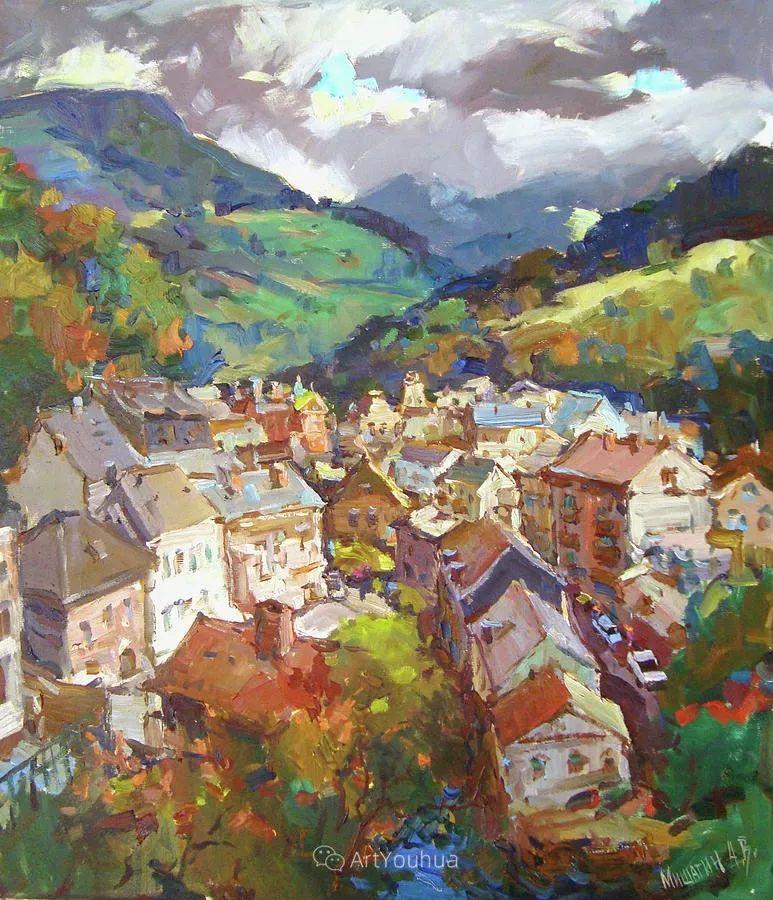 色彩丰富的风景油画,太美了!俄罗斯画家Andrey Mishagin插图49