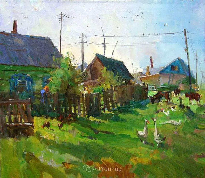 色彩丰富的风景油画,太美了!俄罗斯画家Andrey Mishagin插图51