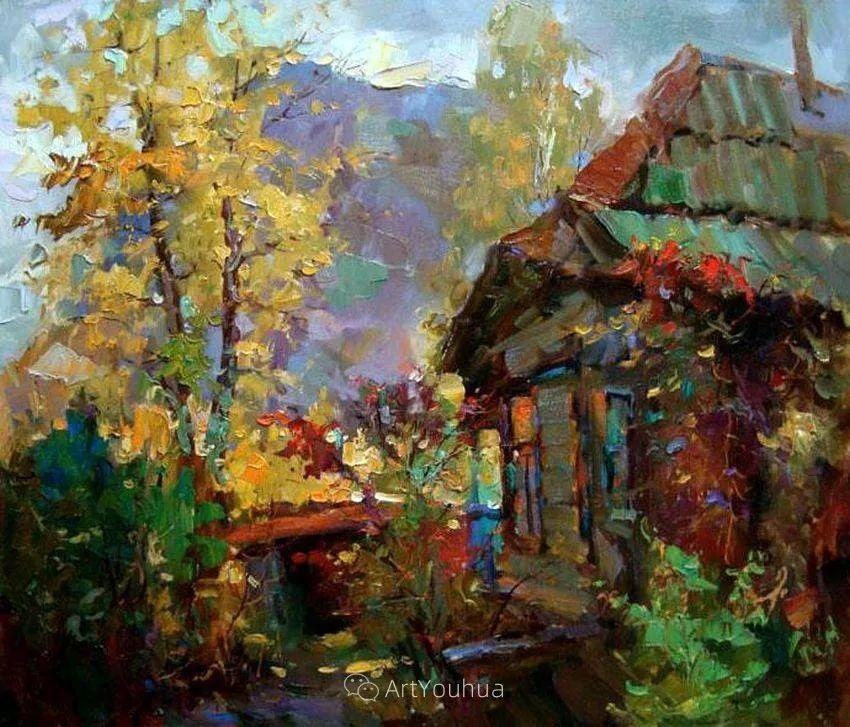 色彩丰富的风景油画,太美了!俄罗斯画家Andrey Mishagin插图53