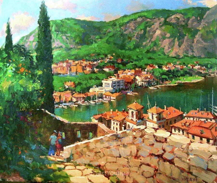 色彩丰富的风景油画,太美了!俄罗斯画家Andrey Mishagin插图55