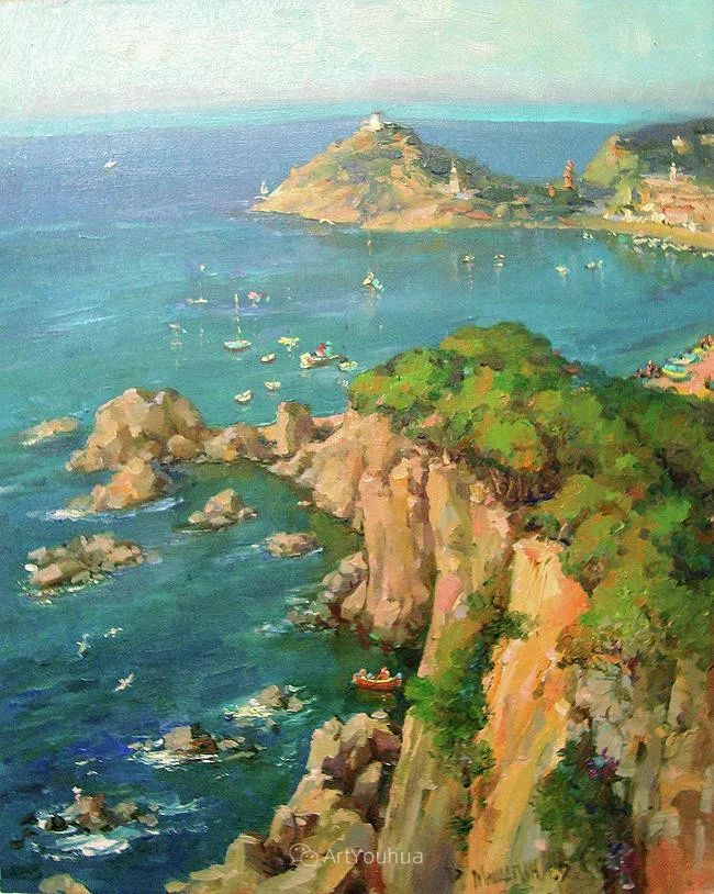 色彩丰富的风景油画,太美了!俄罗斯画家Andrey Mishagin插图57