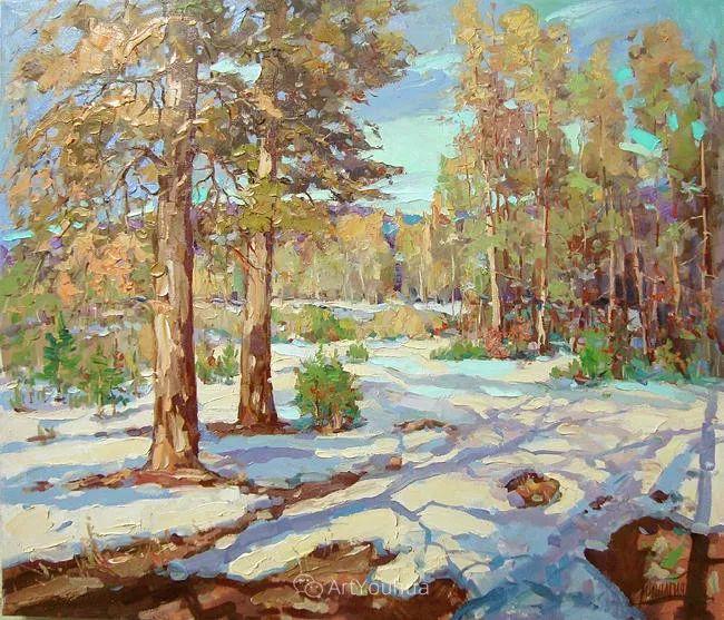 色彩丰富的风景油画,太美了!俄罗斯画家Andrey Mishagin插图59