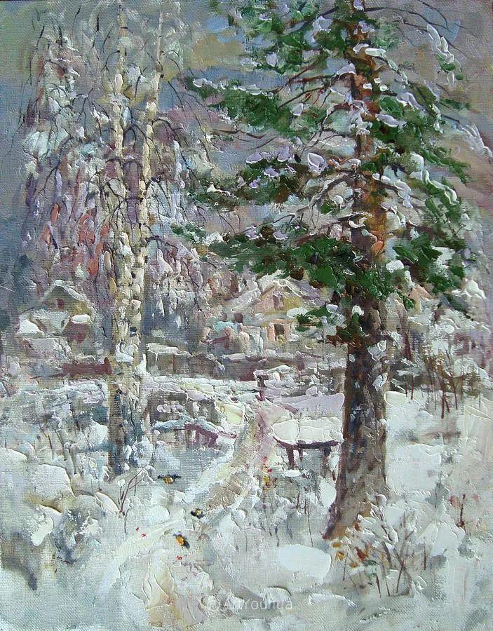 色彩丰富的风景油画,太美了!俄罗斯画家Andrey Mishagin插图63