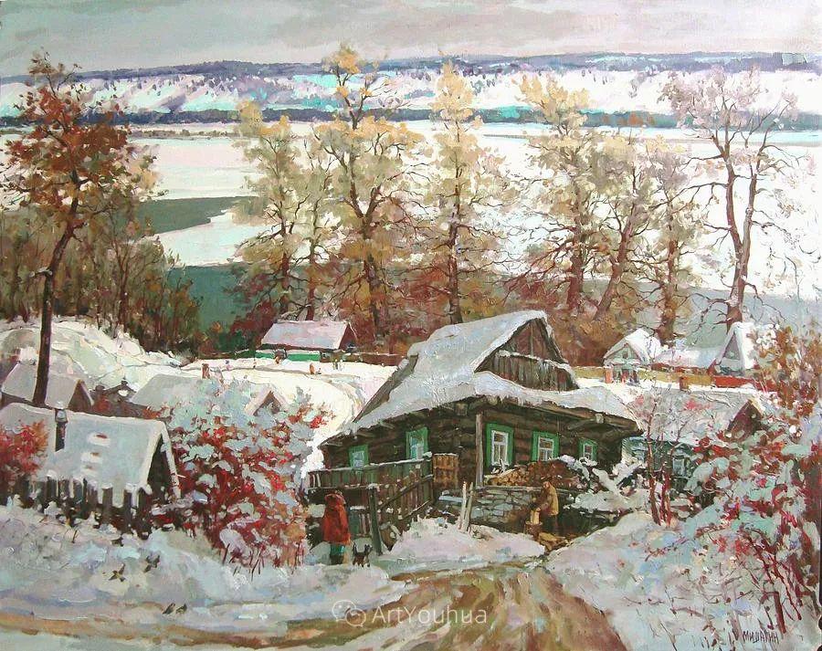 色彩丰富的风景油画,太美了!俄罗斯画家Andrey Mishagin插图65
