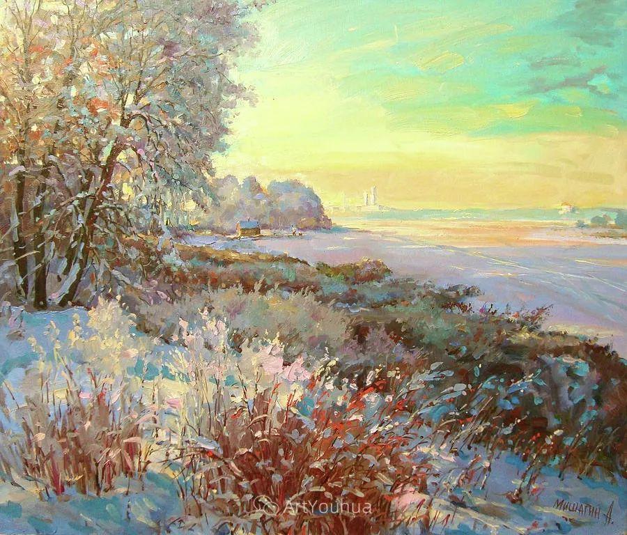 色彩丰富的风景油画,太美了!俄罗斯画家Andrey Mishagin插图67