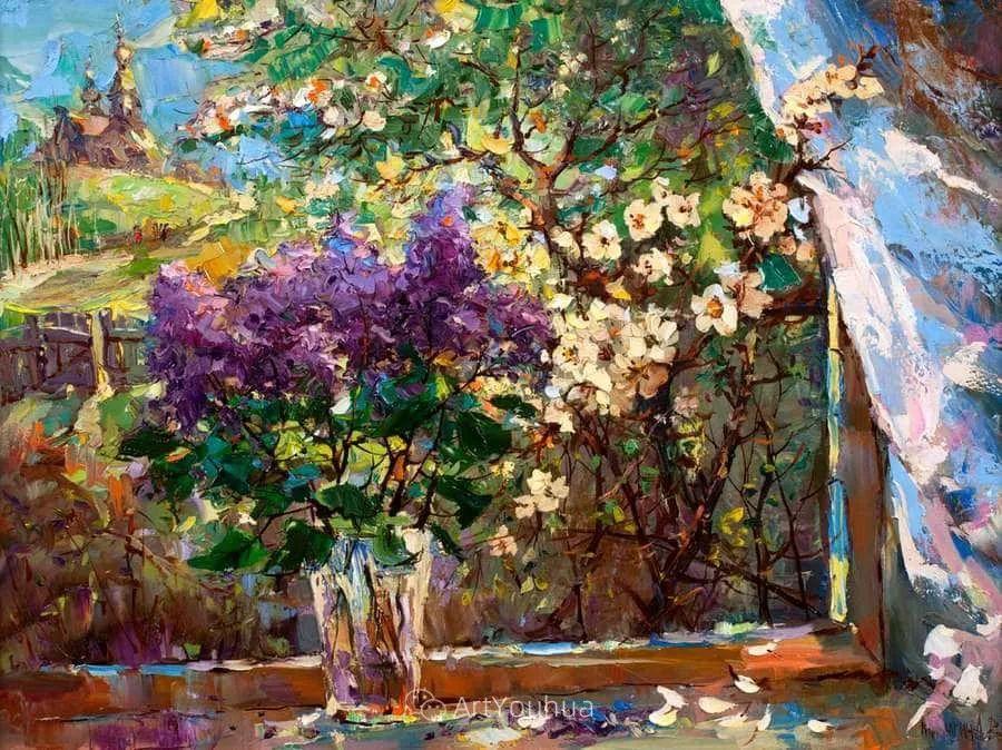 色彩丰富的风景油画,太美了!俄罗斯画家Andrey Mishagin插图69