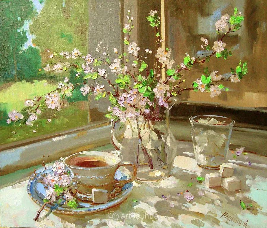 色彩丰富的风景油画,太美了!俄罗斯画家Andrey Mishagin插图71