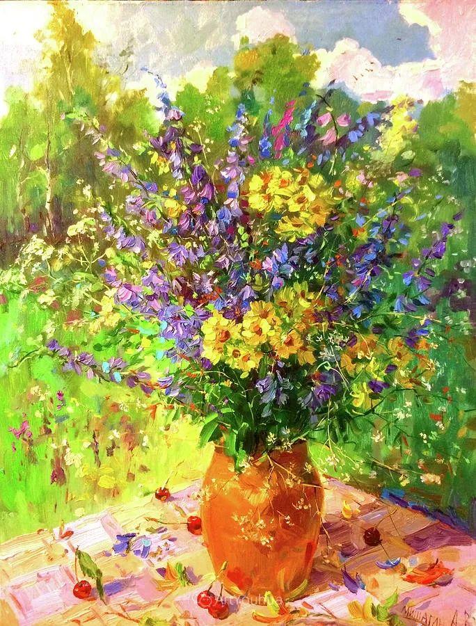 色彩丰富的风景油画,太美了!俄罗斯画家Andrey Mishagin插图73
