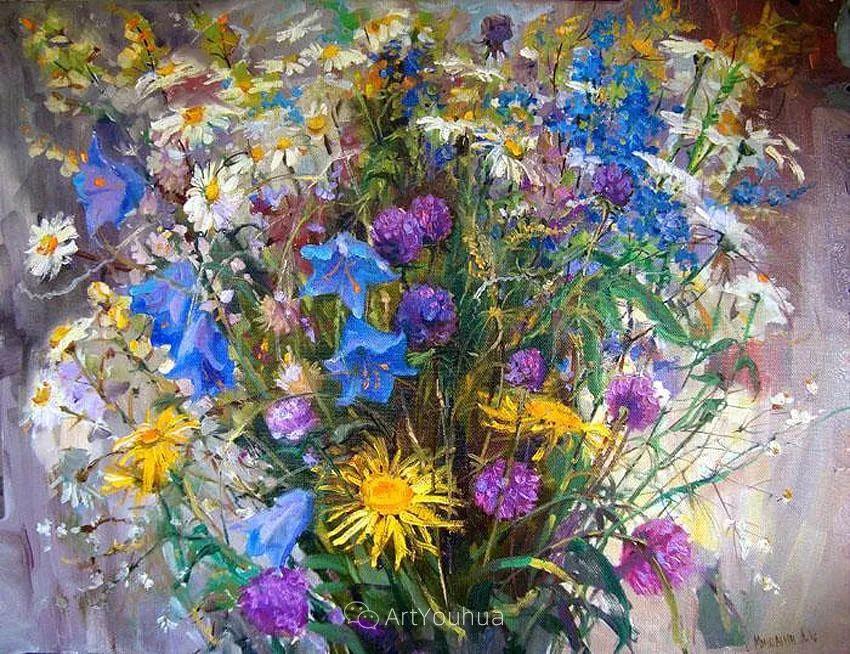 色彩丰富的风景油画,太美了!俄罗斯画家Andrey Mishagin插图75