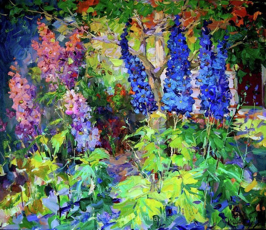 色彩丰富的风景油画,太美了!俄罗斯画家Andrey Mishagin插图77