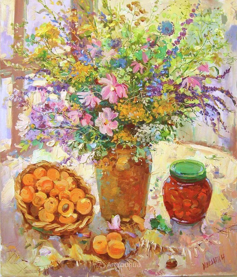 色彩丰富的风景油画,太美了!俄罗斯画家Andrey Mishagin插图83