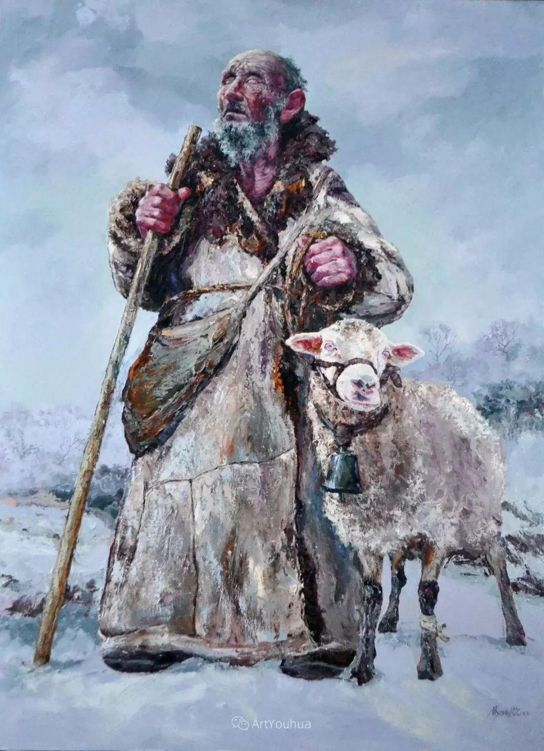 人物篇——哈萨克斯坦画家Musin Irik Rashidovich插图