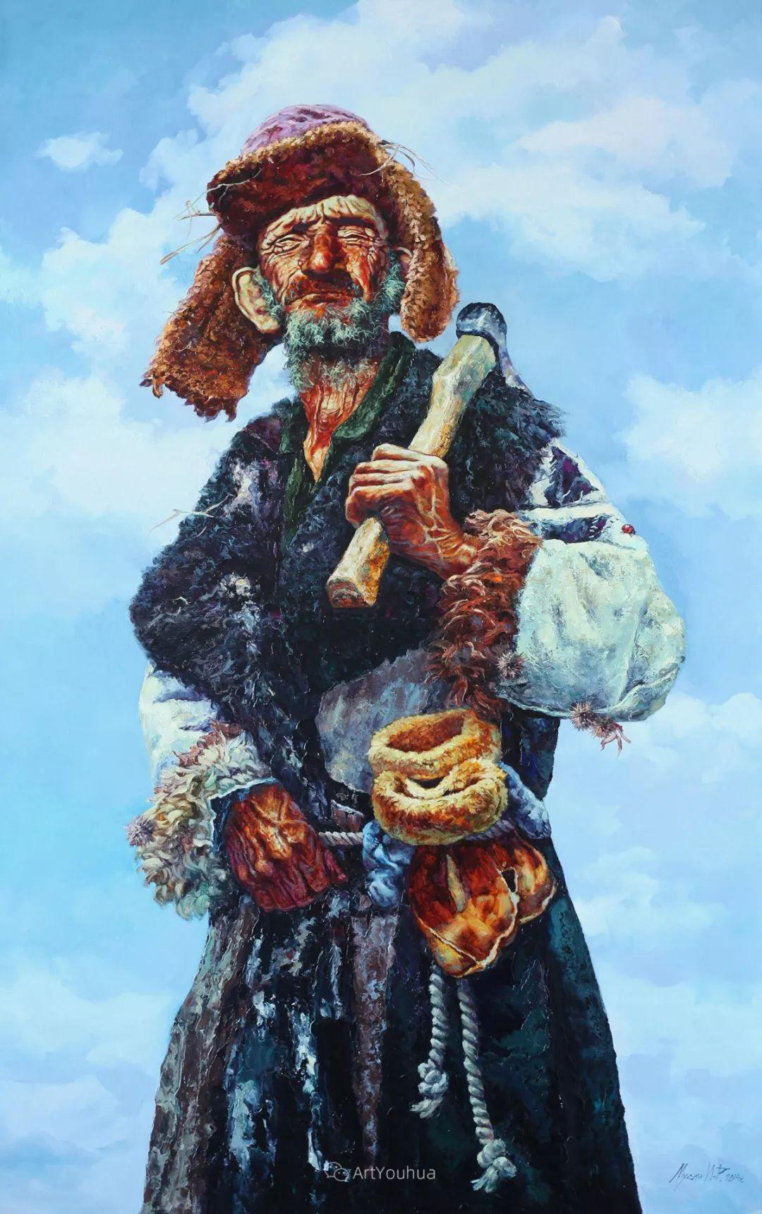 人物篇——哈萨克斯坦画家Musin Irik Rashidovich插图1