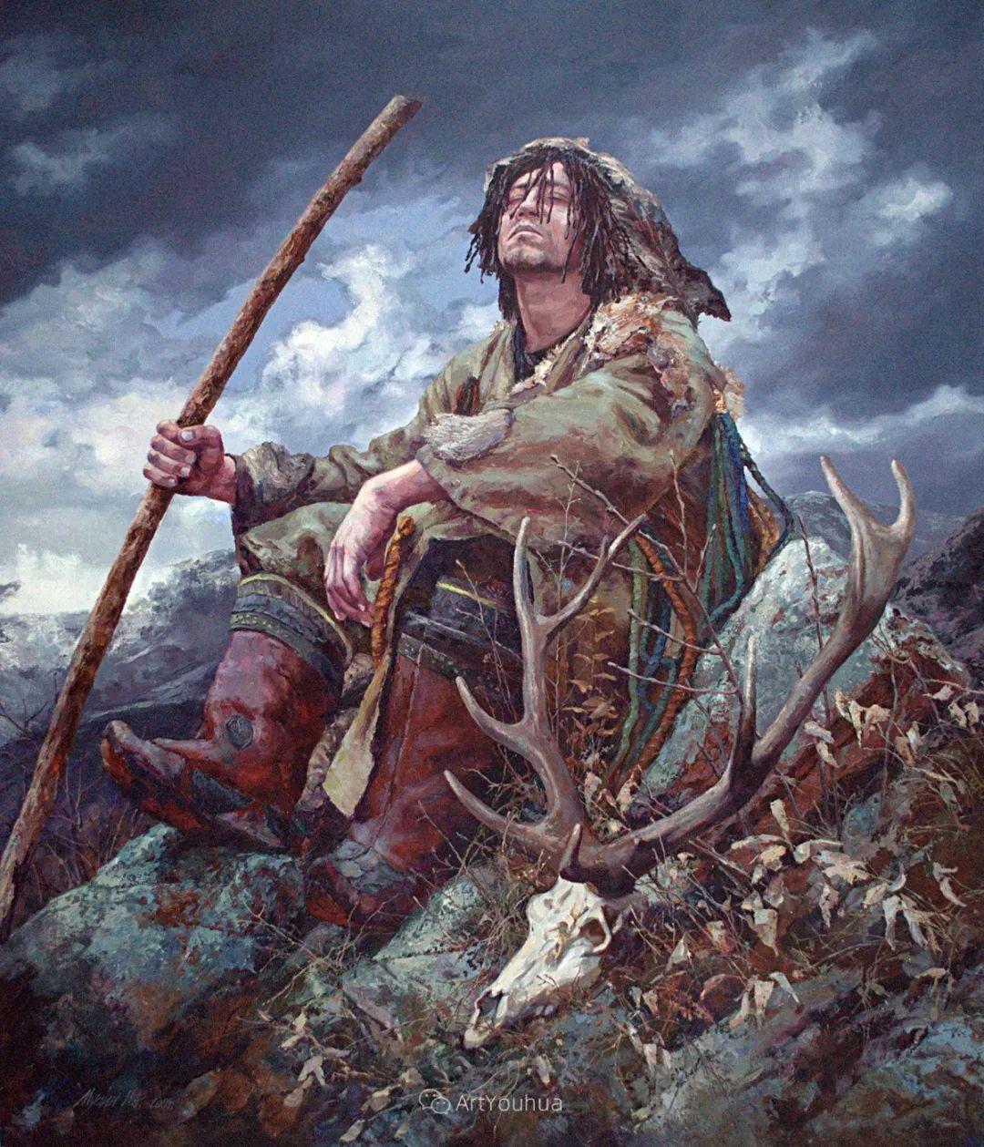 人物篇——哈萨克斯坦画家Musin Irik Rashidovich插图7