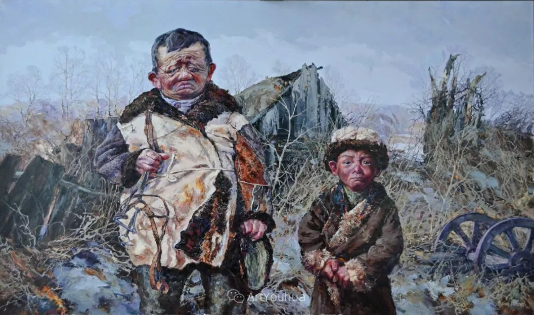 人物篇——哈萨克斯坦画家Musin Irik Rashidovich插图9