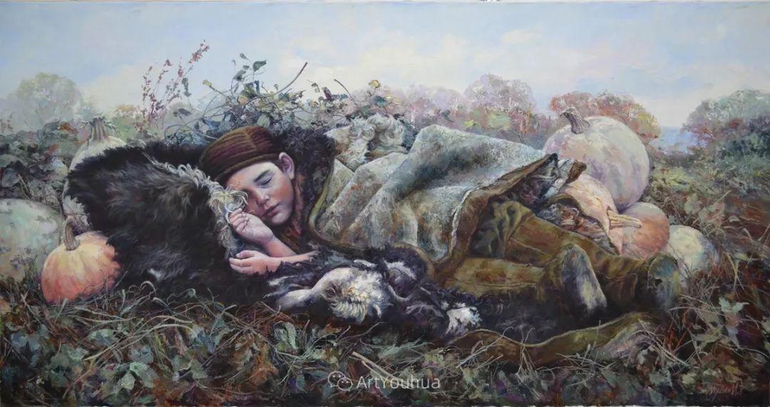 人物篇——哈萨克斯坦画家Musin Irik Rashidovich插图12