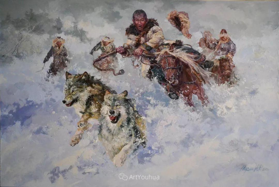 人物篇——哈萨克斯坦画家Musin Irik Rashidovich插图13