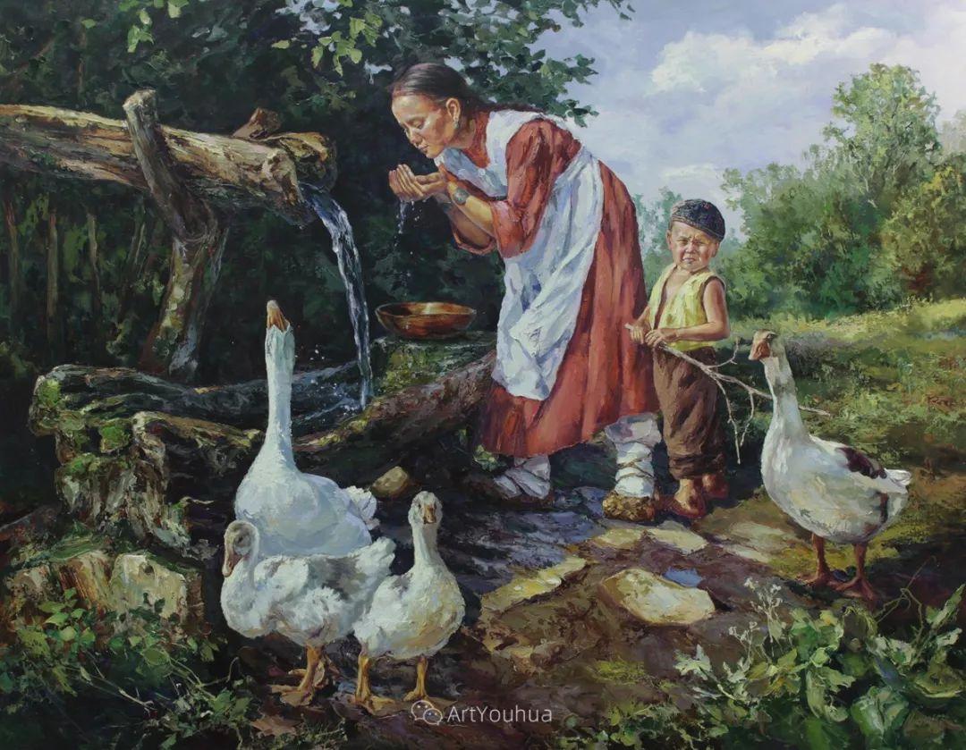 人物篇——哈萨克斯坦画家Musin Irik Rashidovich插图18