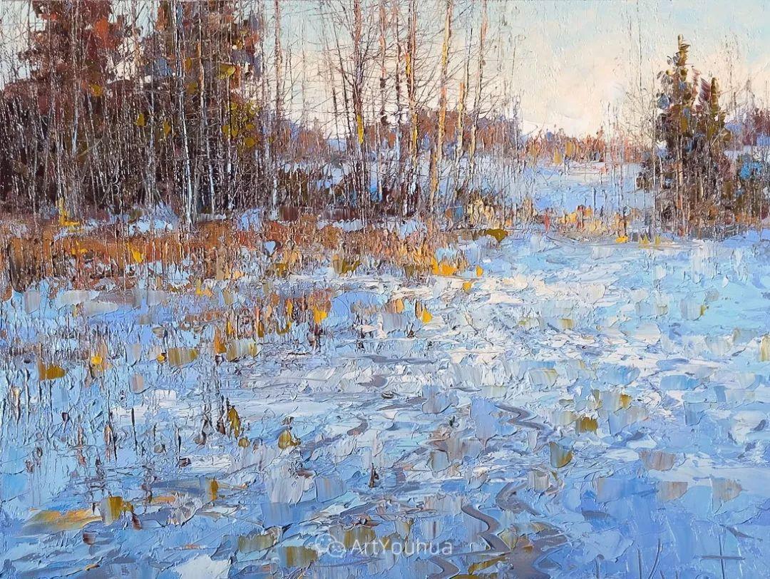 很不同寻常的展现方式,刀画风景!白俄罗斯Dmitry Kustanovich插图7