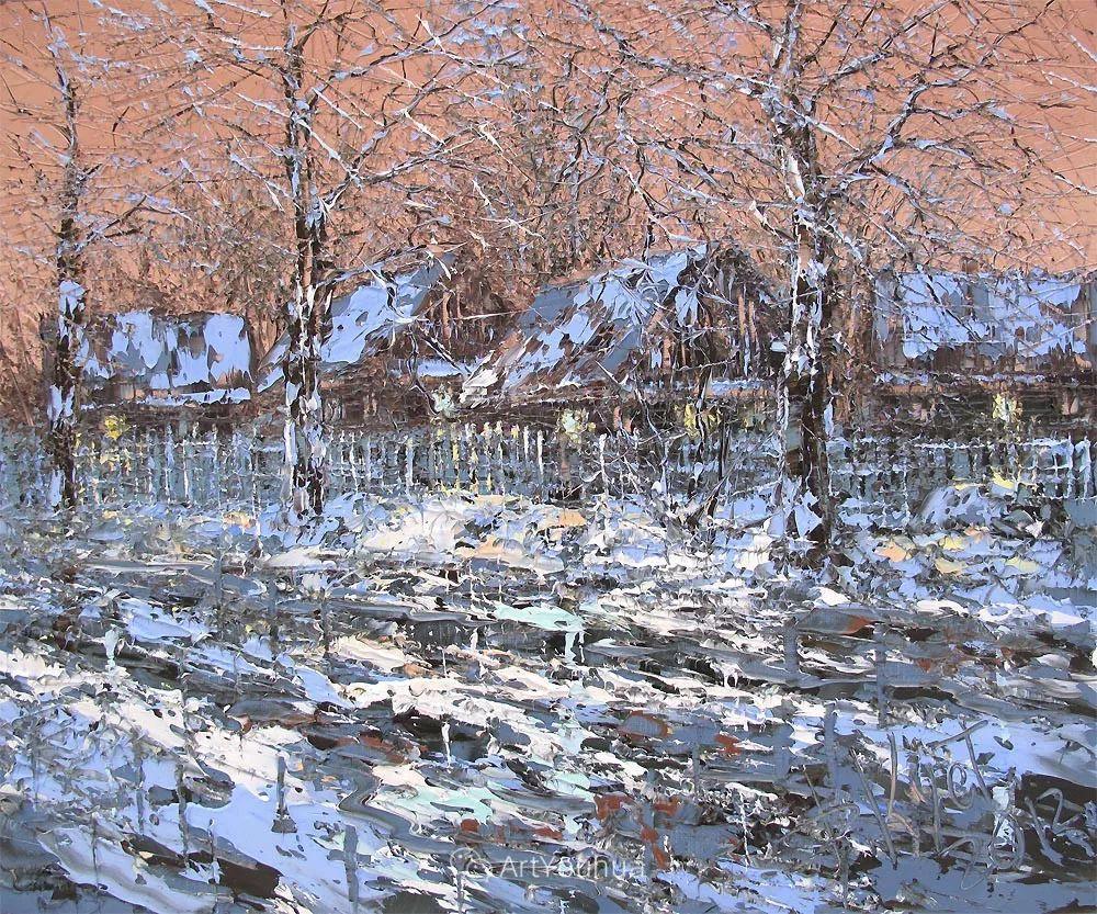 很不同寻常的展现方式,刀画风景!白俄罗斯Dmitry Kustanovich插图17